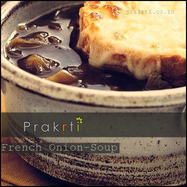French Onion Soup - Prakrti Blog