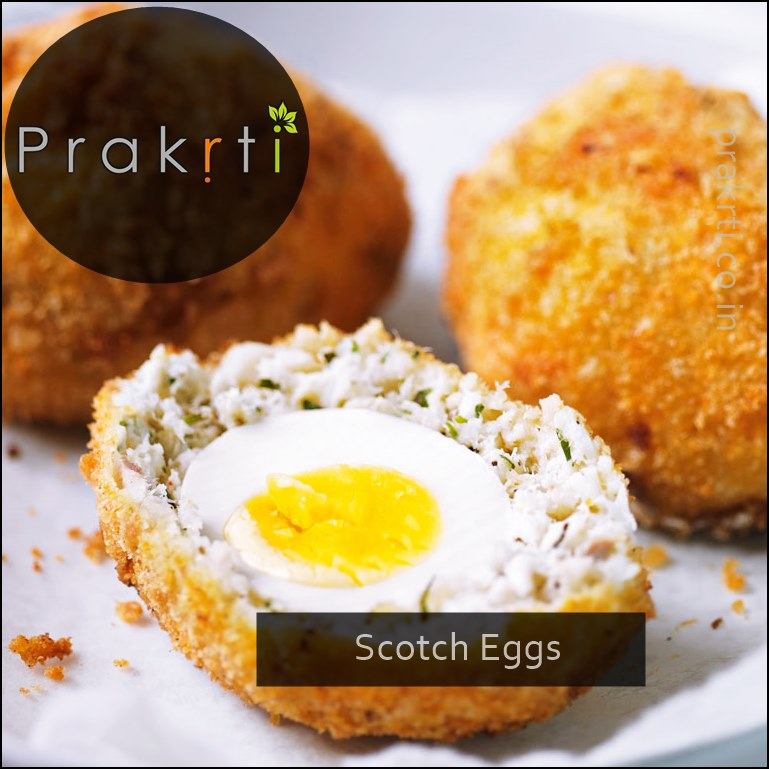 Scotch Eggs – Prakrti Blog – English Cuisine