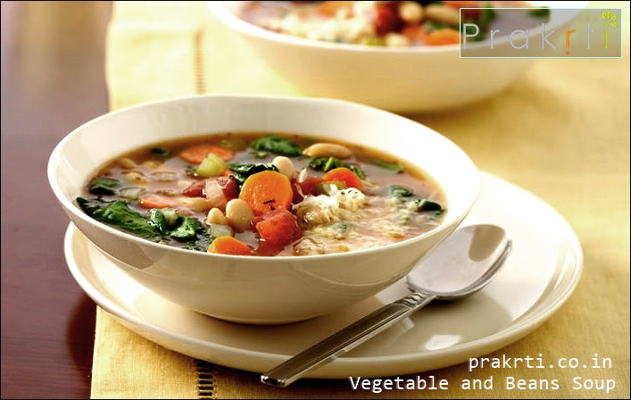 Italian Style Vegetable and Bean Soup