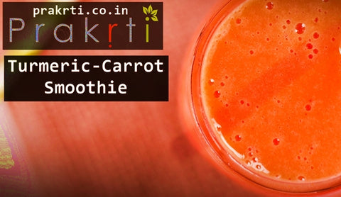 carrot turmeric smoothie