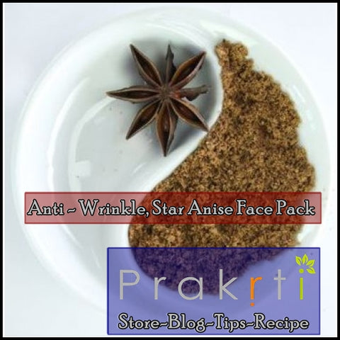 star anise face pack