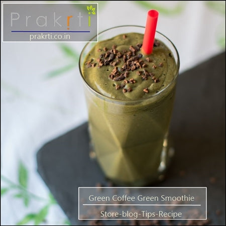 green coffee green smoothie