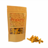 Whole Turmeric हल्दी fingers, export quality intensely colorful from south India by Prakrti