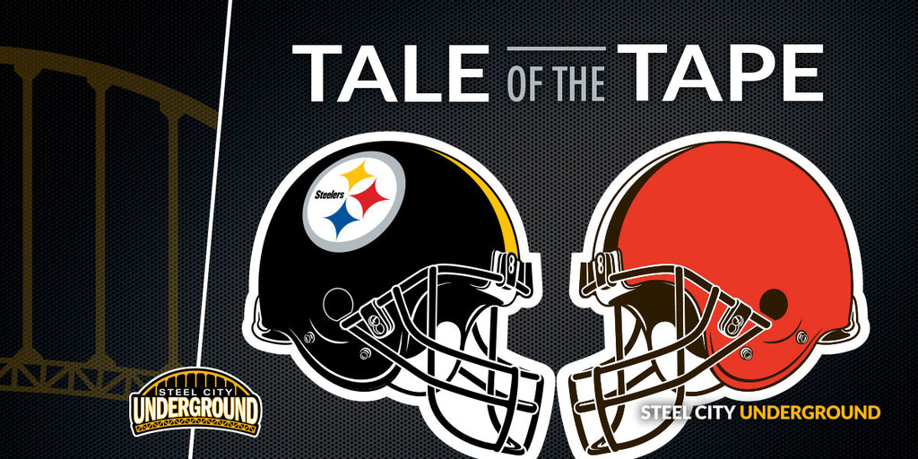 Tale of the Tape: Pittsburgh Steelers (0-0) at Cleveland Browns (0-0)