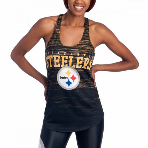 Ladies' Steelers Knit Showpiece Tank Top