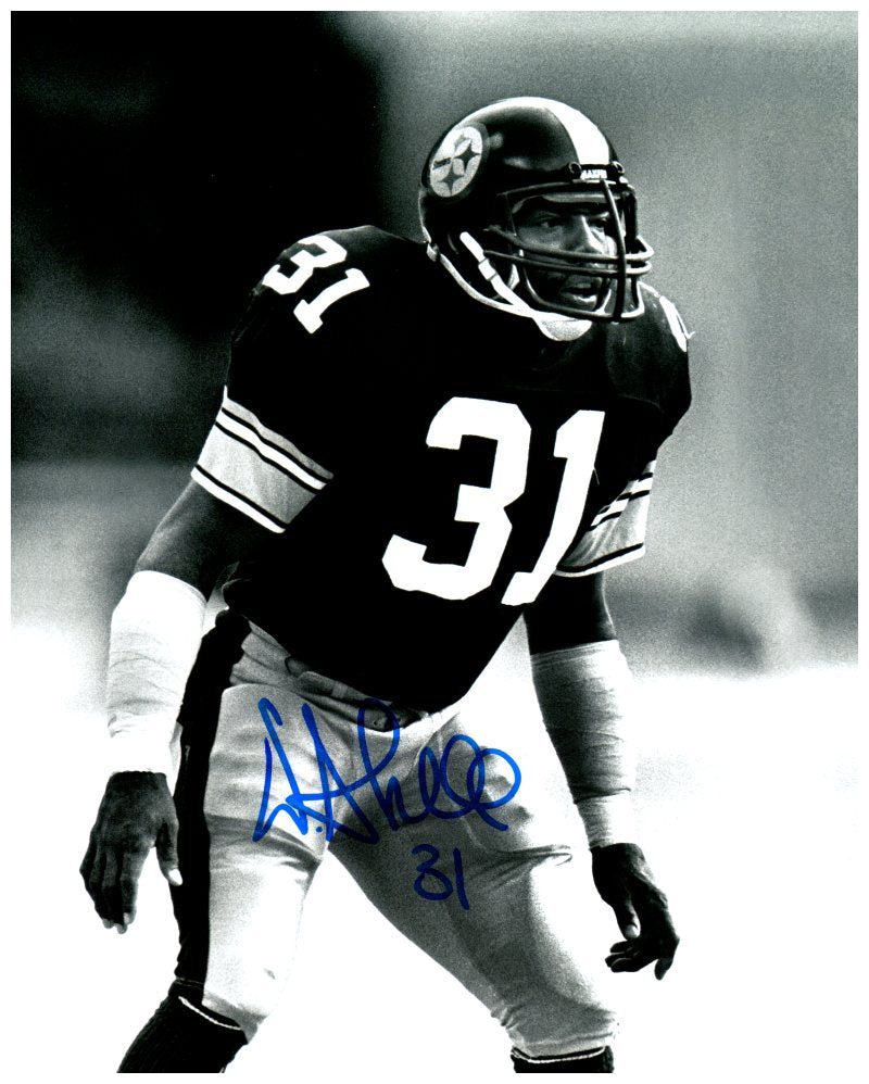 Donnie Shell Signed Standing 8x10 Photo