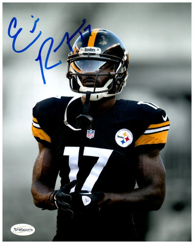 Eli Rogers From The Waist Up Spotlight 8x10 Photo - Signed
