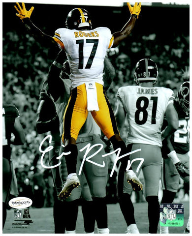 Eli Rogers Jumping Spotlight 8x10 Photo - Signed