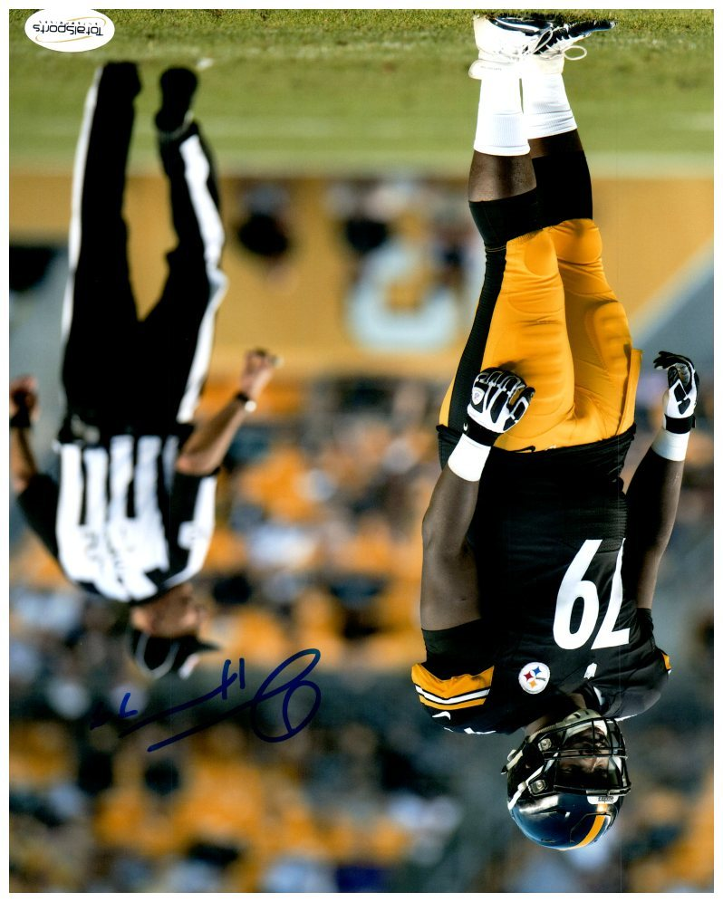 100% authentic 1e472 f4f64 Javon Hargrave Autographed Standing in Black 8x10 Photo