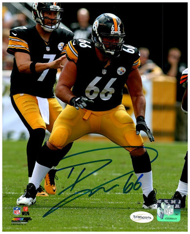 David DeCastro Autographed Protecting Ben 16x20