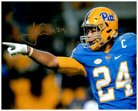 James Conner (PITT) Pointing Photo