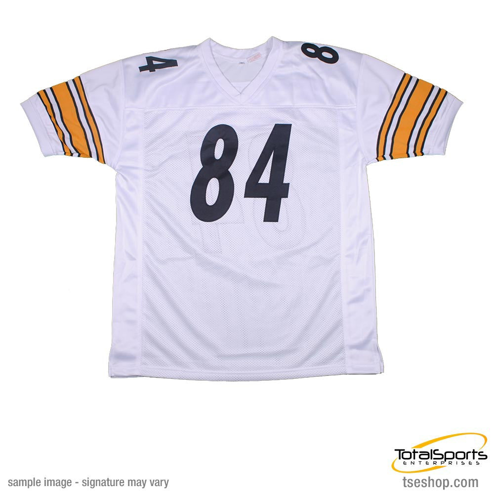 Antonio Brown Autographed White Custom Jersey