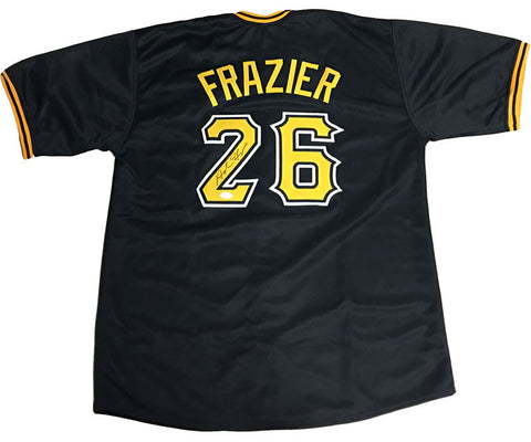 Adam Frazier Signed Custom Black Jersey