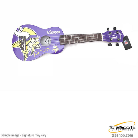 Adam Thielen Signed Minnesota Vikings Mini Guitar - Denny Series