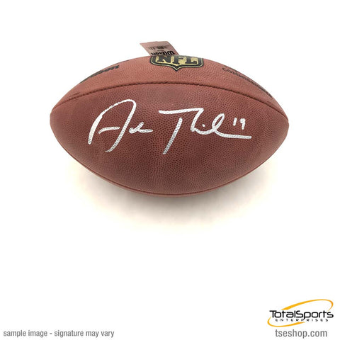 Adam Thielen Signed Authentic Football