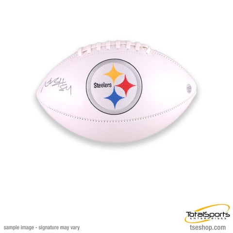 Antonio Brown Autographed White Steelers Football