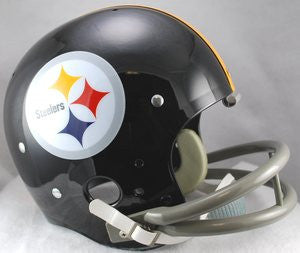 Riddell Steelers Black 1962-76 TK Full Size Helmet