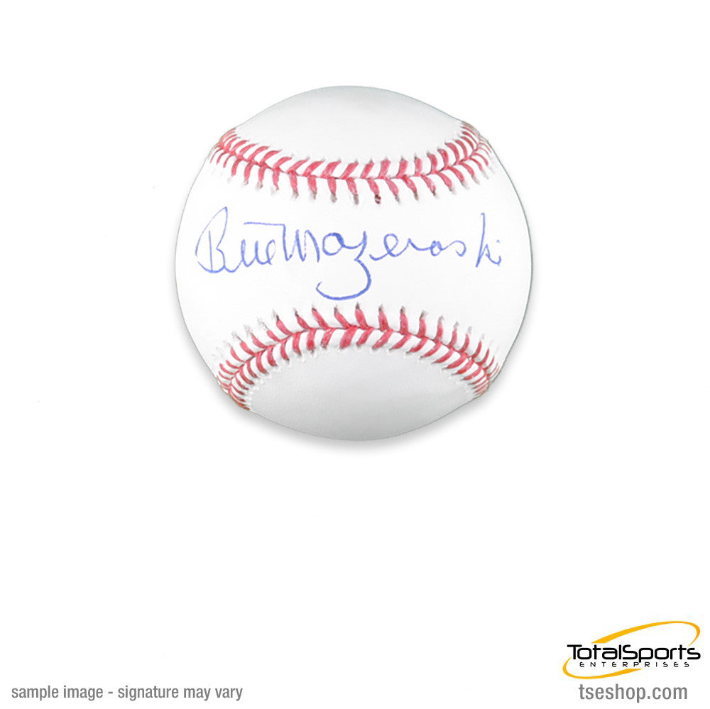 Bill Mazeroski Official MLB Baseball - Autographed