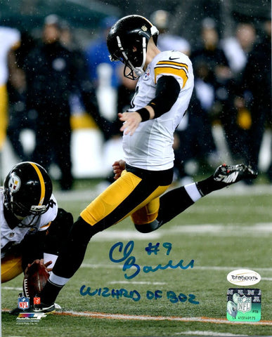 Chris Boswell 8x10 Photo D - Signed with Wizard of Oz