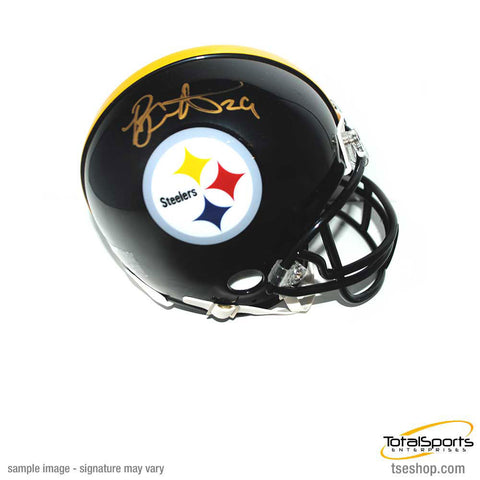 Brian Allen Signed Pittsburgh Steelers Logo Mini Helmet