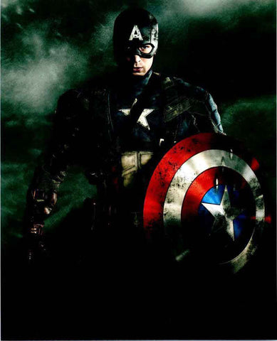 Captain America Holding Shield 8x10 - Unsigned