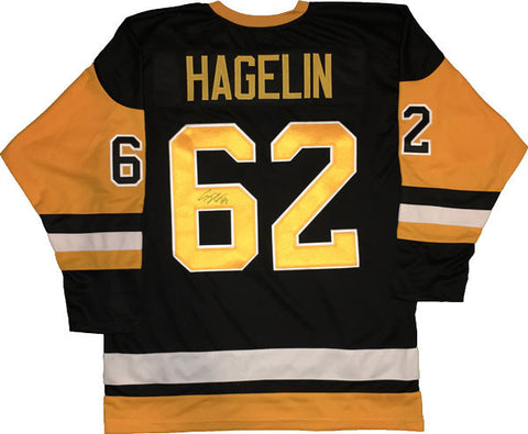 Carl Hagelin Autographed Alternate Pittsburgh Penguins Jersey