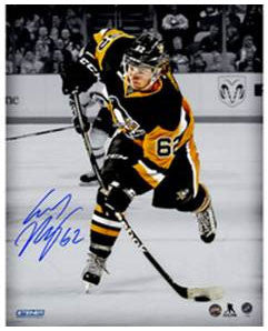 Carl Hagelin Autographed 8x10