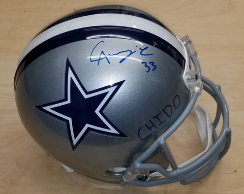 Chidobe Awuzie Signed Dallas Cowboys Full Size Helmet with 'CHIDO'