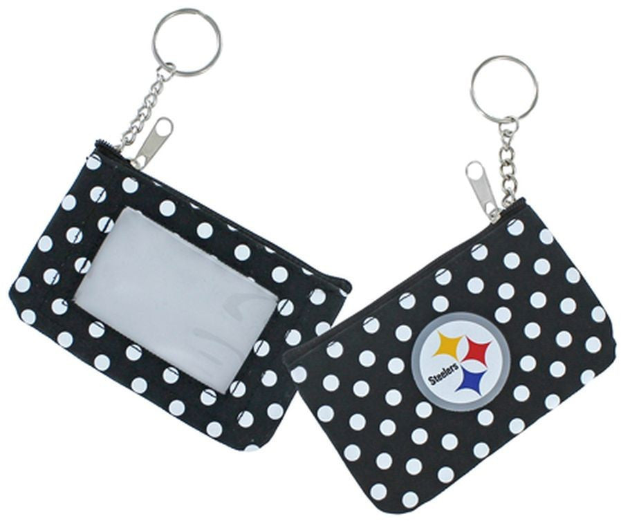 Steelers (BLACK) Coin Purse