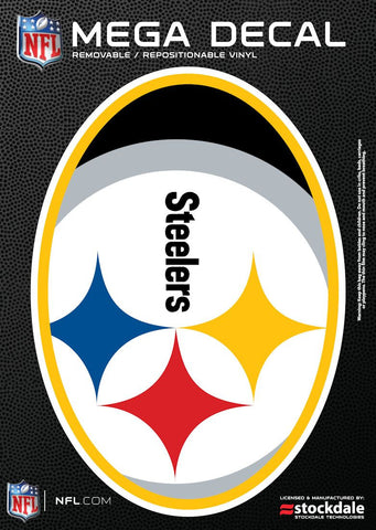 Steelers Mega Decal 5x7 Color