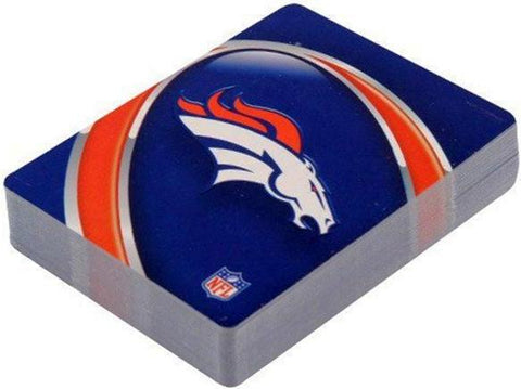 Denver Broncos Playing Cards ( 1 Decks Playing Card) - Officially Licensed Product