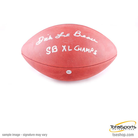 Dick LeBeau Autographed SB XL Authentic Football inscribed