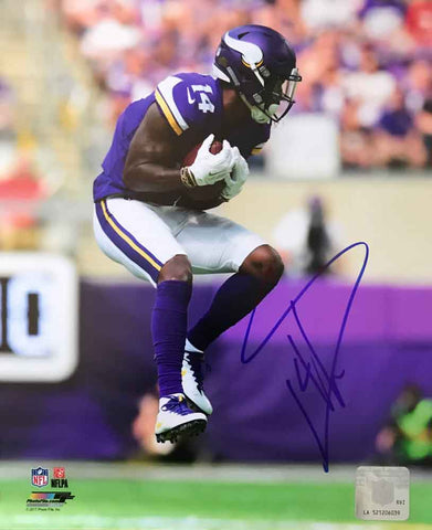 Stefon Diggs Autographed Jumping Catch 8x10 Photo