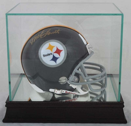 Single Mini Helmet Glass Display Case