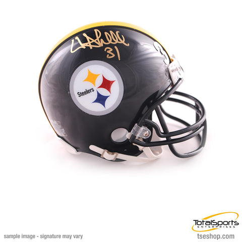 Donnie Shell Autographed Pittsburgh Steelers Black Mini Helmet