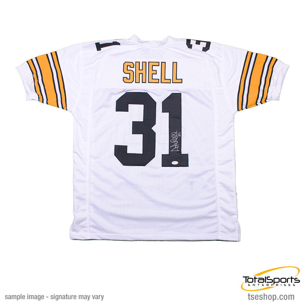 Donnie Shell Autographed White Custom Football Jersey