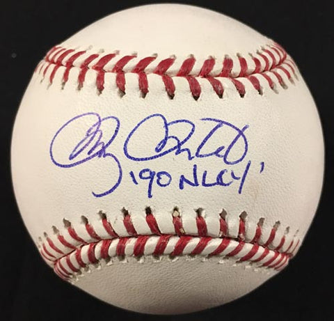 Doug Drabek Signed Official Rawlings MLB Baseball with '90 NLCY'