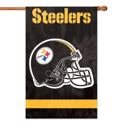 Steelers 28x44 Two-Sided Flag
