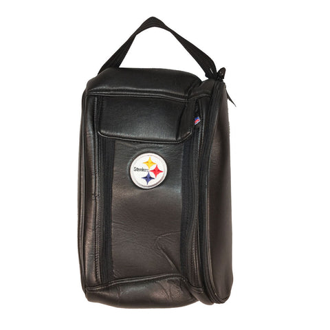 Steelers Leather Shoe Golf Bag