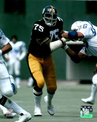 Joe Greene UNSIGNED Against Colts 8x10 Photo