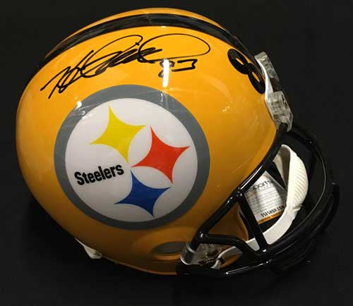 Heath Miller Autographed 75th Anniversary Full Sized Replica Helmet