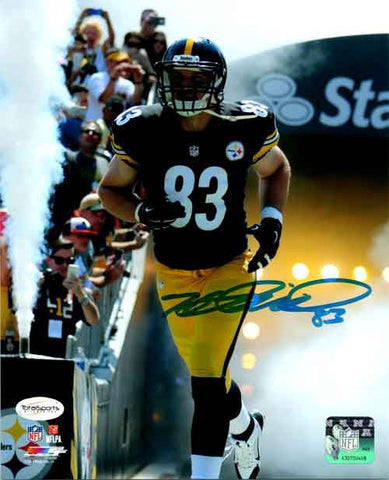 Heath Miller Autographed Entrance to Heinz Field 16x20 Photo