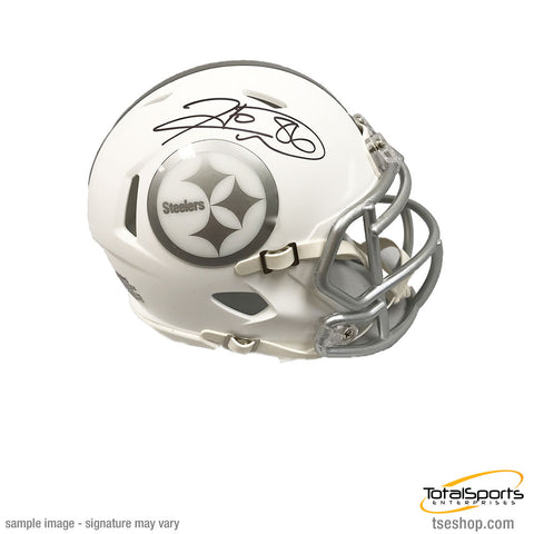 Hines Ward Autographed Pittsburgh Steelers ICE Mini Helmet