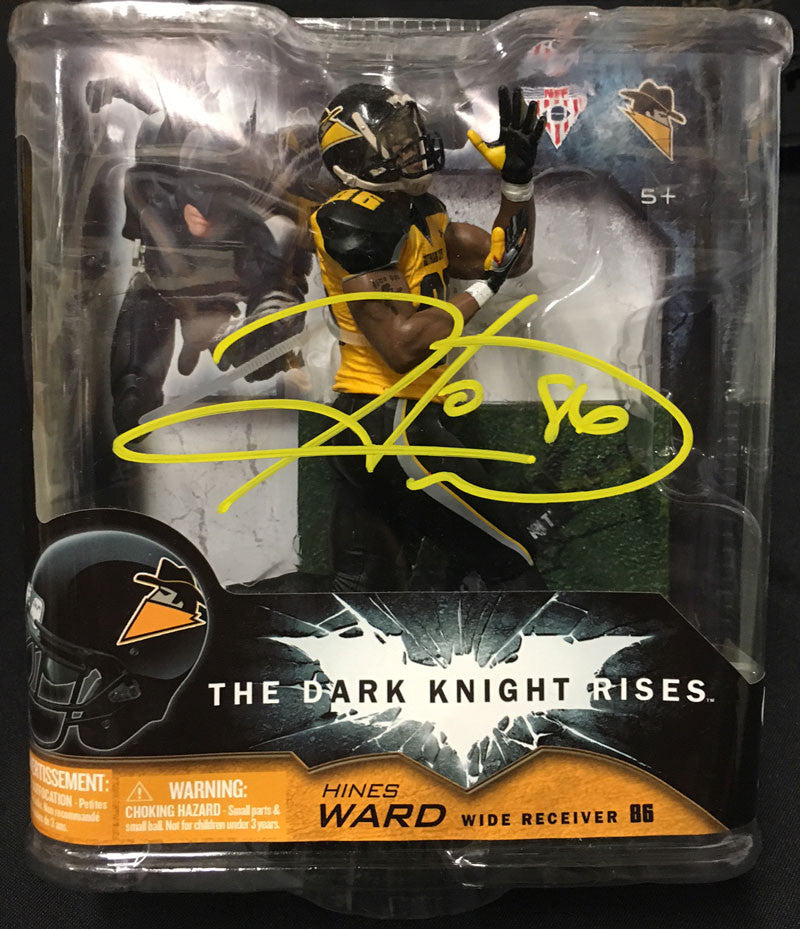 Hines Ward Autographed Batman: The Dark Knight Rises Action Figure