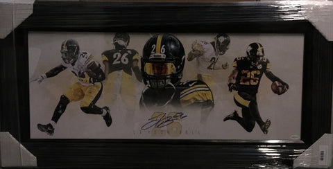Le'Veon Bell Pano - Signed - Professionally Framed