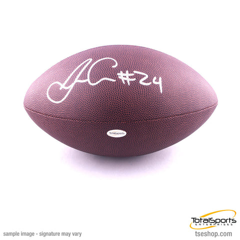James Conner Autographed Replica Football with #24