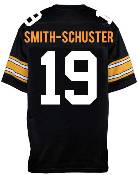 new style 749b1 ea208 PRE-SALE: JuJu Smith-Schuster Signed Custom 2018-19 Throwback Jersey