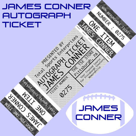 AUTO-TICKET: Get ANY Item Signed IN PERSON by James Conner