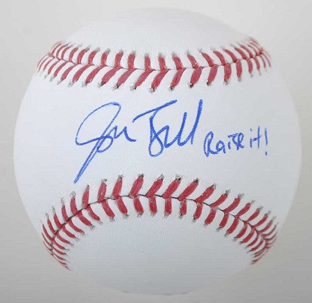 Josh Bell Autographed MLB Baseball with Raise It