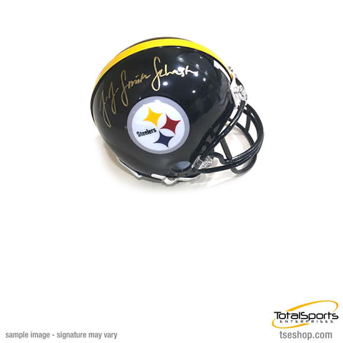 JuJu Smith-Schuster Signed Pittsburgh Steelers Mini Helmet